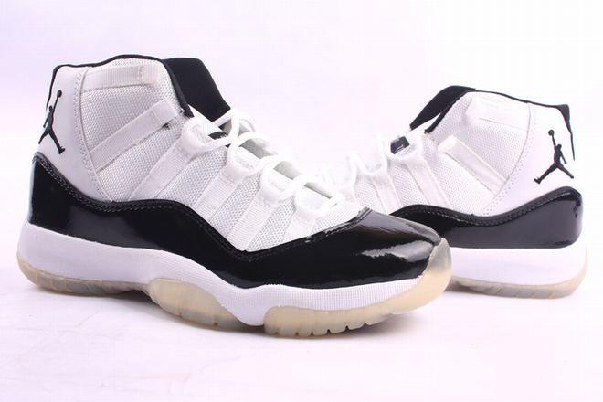 classic jordan 11 concords black white
