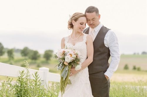 Romantic Wedding with Blush Hues and Beautiful Blooms
