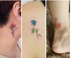 ¡Morirás de ternura!Si estás pensando en hacerte un tatuaje, y a su vez sientes una gran pasión por las flores, has venido al lugar indicado.Los diseños que se pueden realizar con flores son infinitos, de color o en blanco y negro, son todos hermosos...#1 Ramo de flores delicado#2 Rosas#3 Tonos azules#4 Tiernas#5