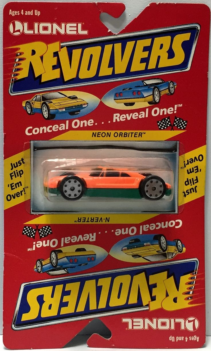 (TAS033917) - 1989 Lionel Revolvers Conceal Reveal - Neon Orbiter/ N-Verter