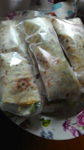 Tortilla homemade ready to eat: