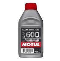 Υγρά φρένων Motul 100% συνθετικά για αγωνιστική χρήση RBF 600 (Factory Line) 500ml.