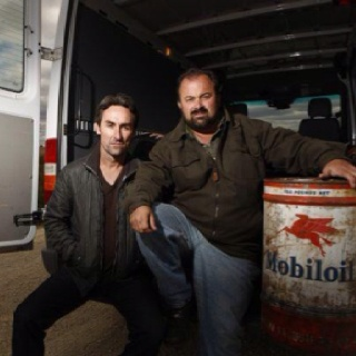 Mike and Frank - American Pickers