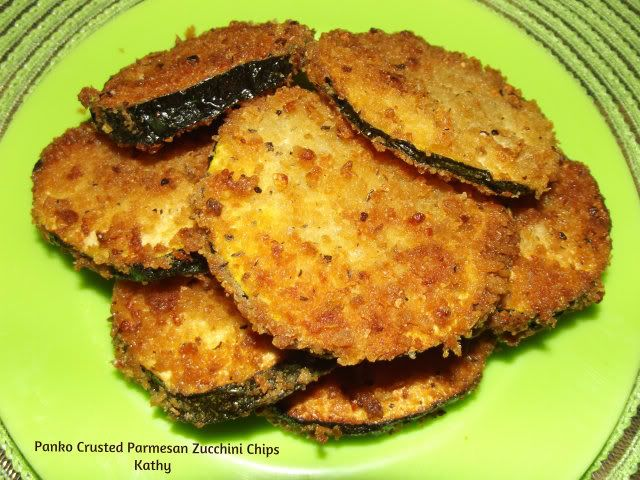 Panko Crusted Parmesan Zucchini Chips | Taste of Home Community