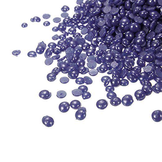Amazon.com: Hair Removal Hard Wax Bean, LuckyFine Depilatory Wax Lavender Wax Tea Tree Depilatory Wax Full Body Wax Bikini Wax For Depilatory on All kinds of Skin Types 100g Purple: Beauty