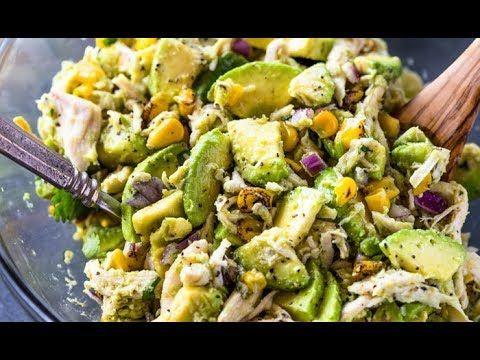 Healthy Avocado Chicken Salad | Gimme Delicious