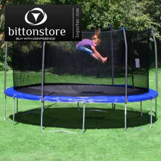 Skywalker Trampolines 15 Round Trampoline and Enclosure - Blue #Skywalker