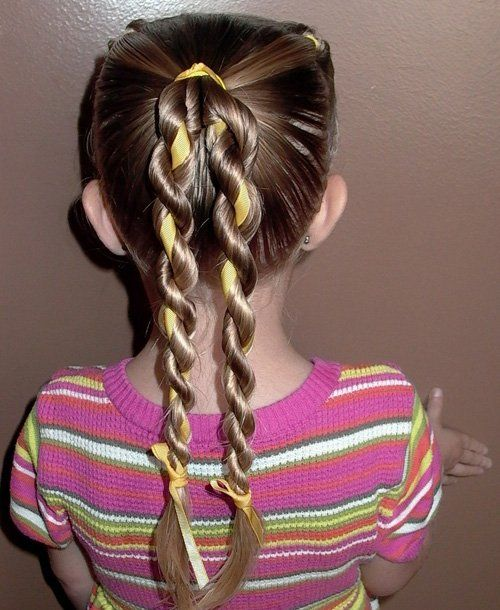 Swerve French Braid: 50 Quick and Easy Girls' Hairstyles - mom.me