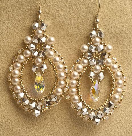 Sabina Earrings Kit - Beads Gone Wild  - 1