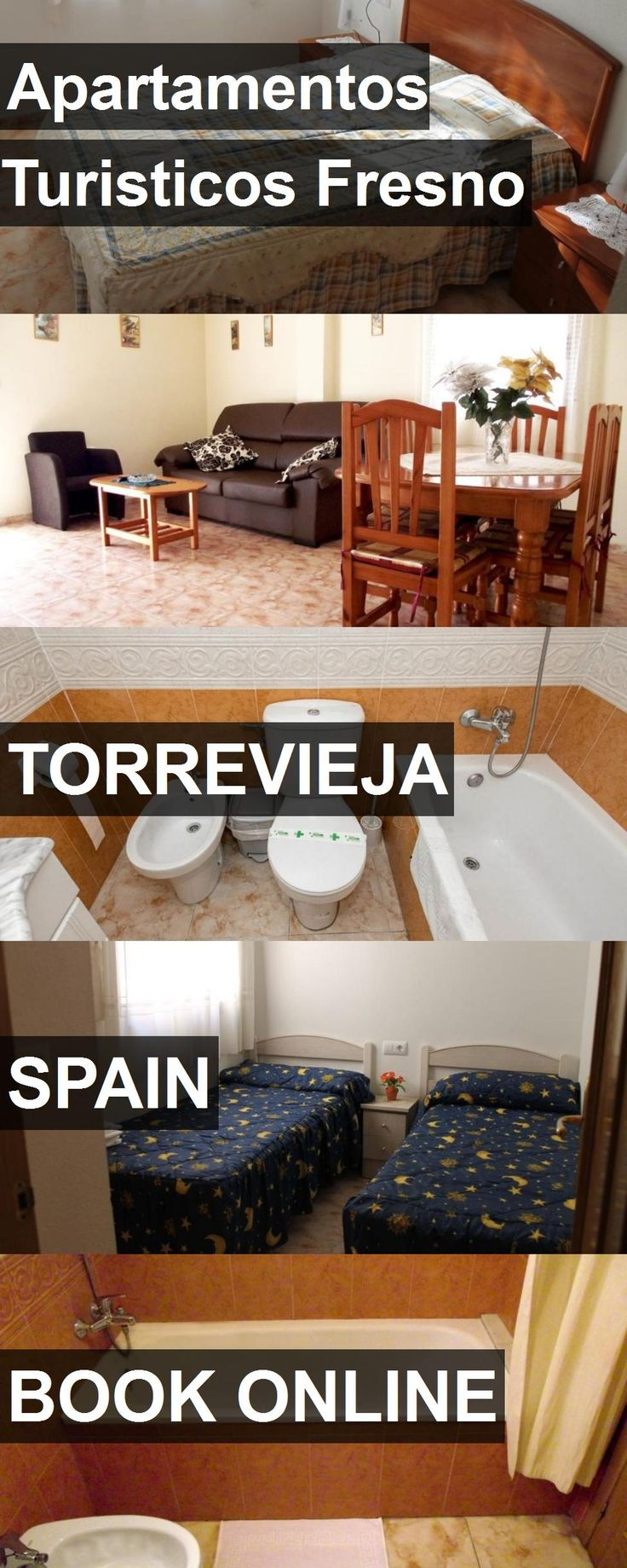 Hotel Apartamentos Turisticos Fresno in Torrevieja, Spain. For more information, photos, reviews and best prices please follow the link. #Spain #Torrevieja #ApartamentosTuristicosFresno #hotel #travel #vacation