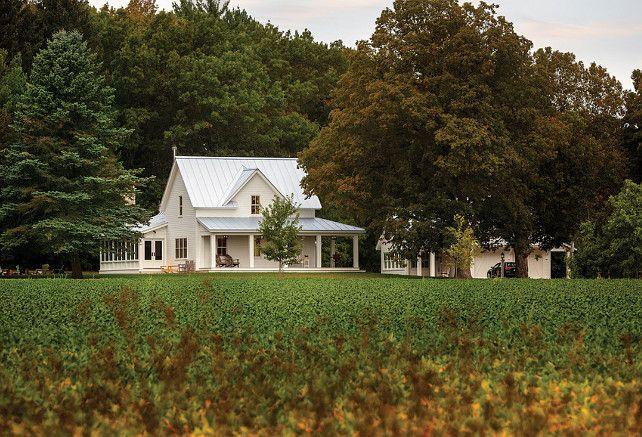Farm. Farm land and farmhouse at distance. #Farm #Farmhouse