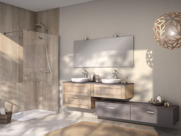 22 best sdb images on Pinterest Bathroom, Murals and Wall mural - Comment Installer Un Four Encastrable Dans Un Meuble