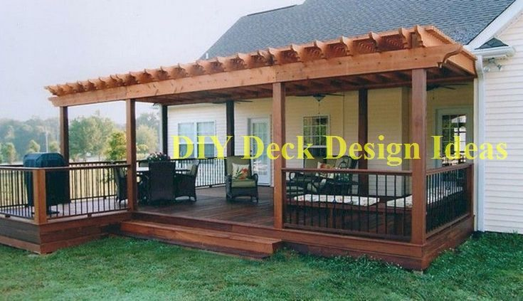 Build Your Deck And Save On The Cost Diyhomedecor Diy In 2020 Pergola Patio Decor Patio Design
