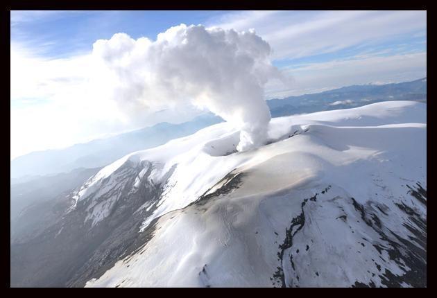 Nevado del Ruiz. Armero, Colombia