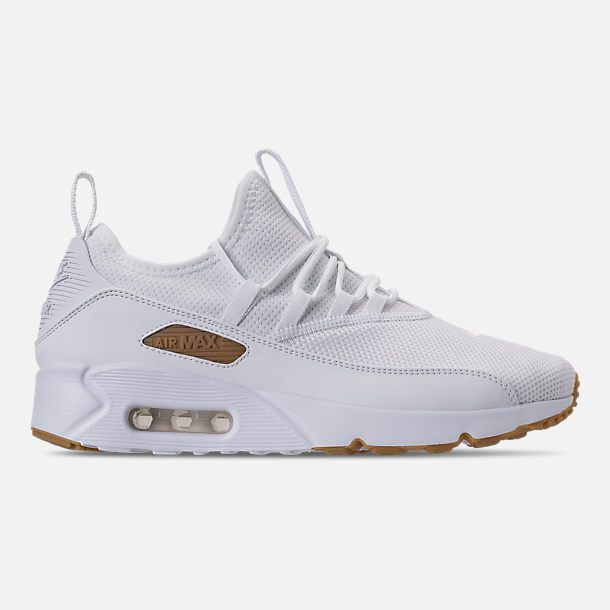size 40 962f5 24cdf Right view of Men's Nike Air Max 90 EZ Casual Shoes in White ...