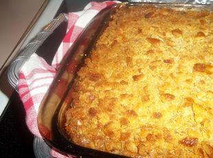 "Tomato Casserole My tomato ""pie"" recipe is now on Just a Pinch Recipe Club."