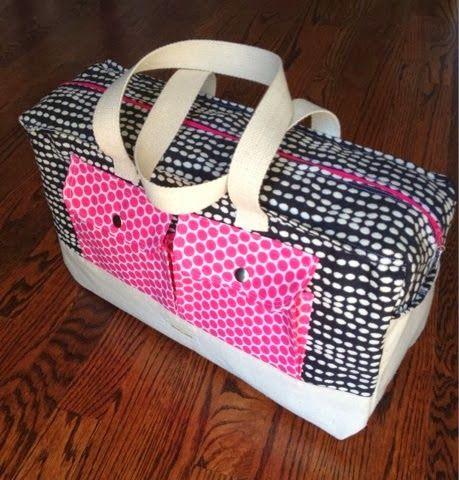 Tutorial for Cargo Duffle Bag