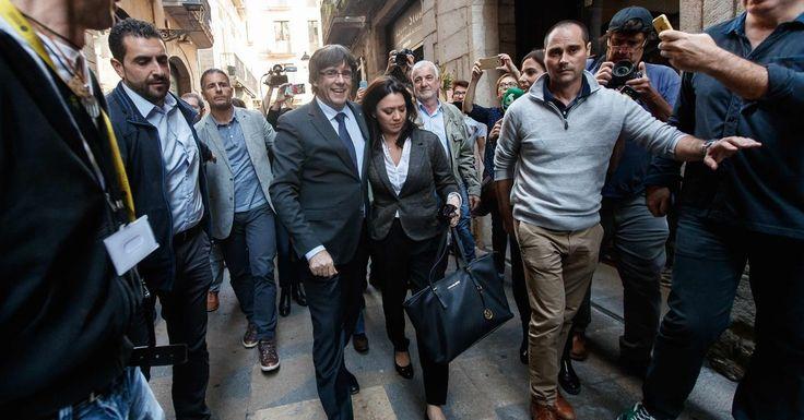 #MONSTASQUADD Resist or Obey Madrid's Rule? Catalonia Civil Servants Must Decide
