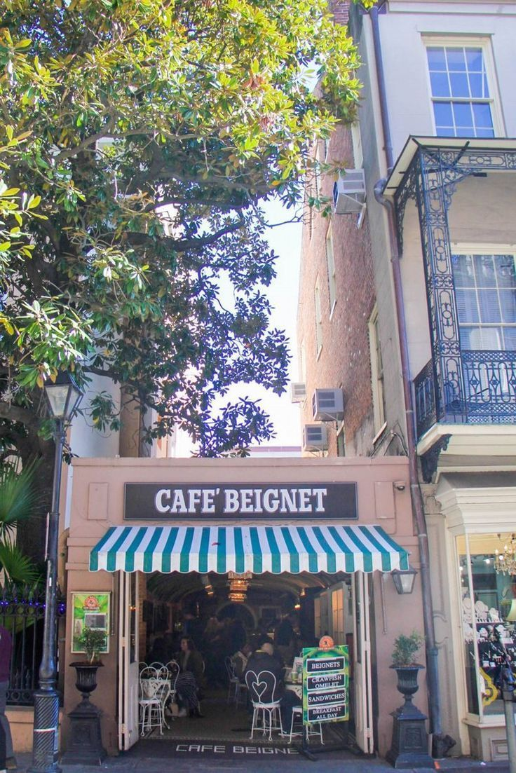 My favorite beignets in New Orleans are at Café Beignet. The waitstaff don't wear bow ties, but the whole place is charming - literally including the floor and the ceiling. | New Orleans Travel Guide | my favorite spots & things to do