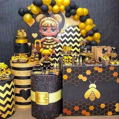 lol überraschung bienenkönigin partydekorationen – Google Search   – GbD LOL Surprise Queen Bee Party