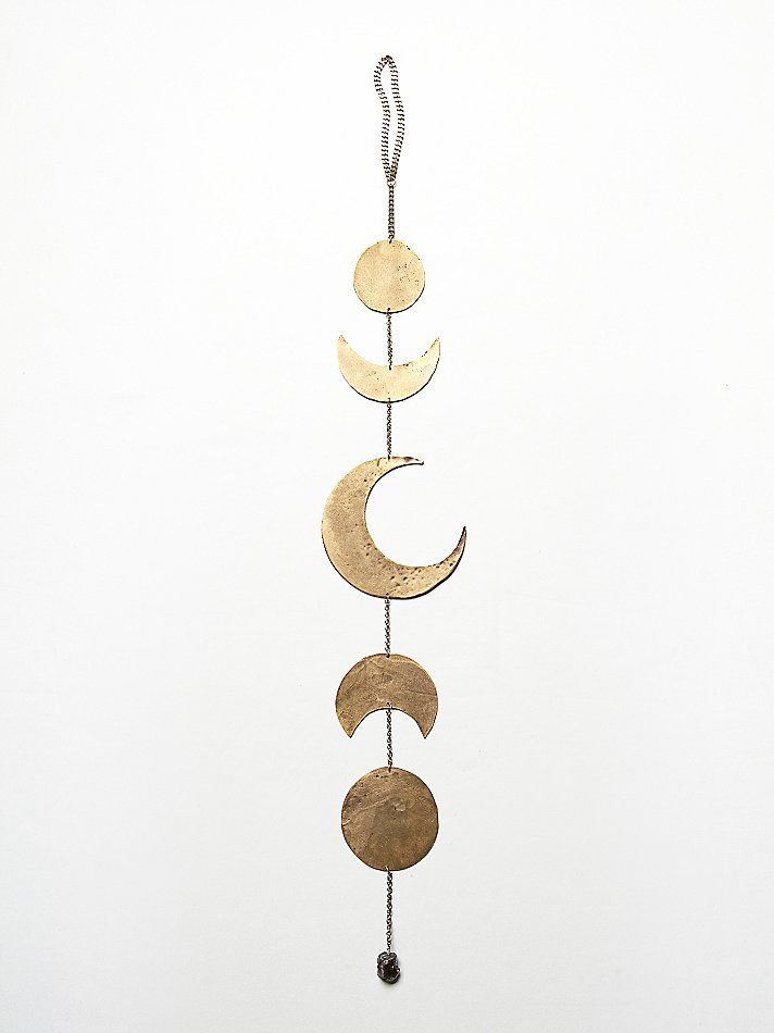 Golden moon chime...