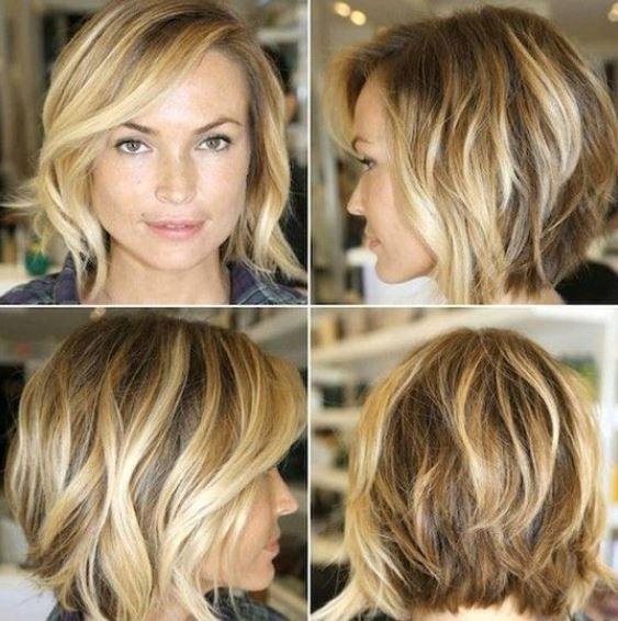 Taglio medio capelli mossi inverno 2014