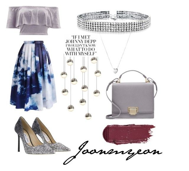 """""""EXO Joonmyeon"""" by desirahmaningsh on Polyvore featuring River Island, Chicwish, Bling Jewelry, Links of London, Smythson and Sonneman"""