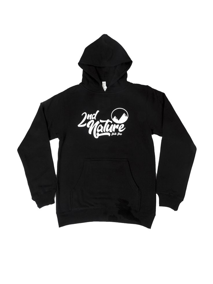 2nd Nature Youth Mtn Logo Pullover