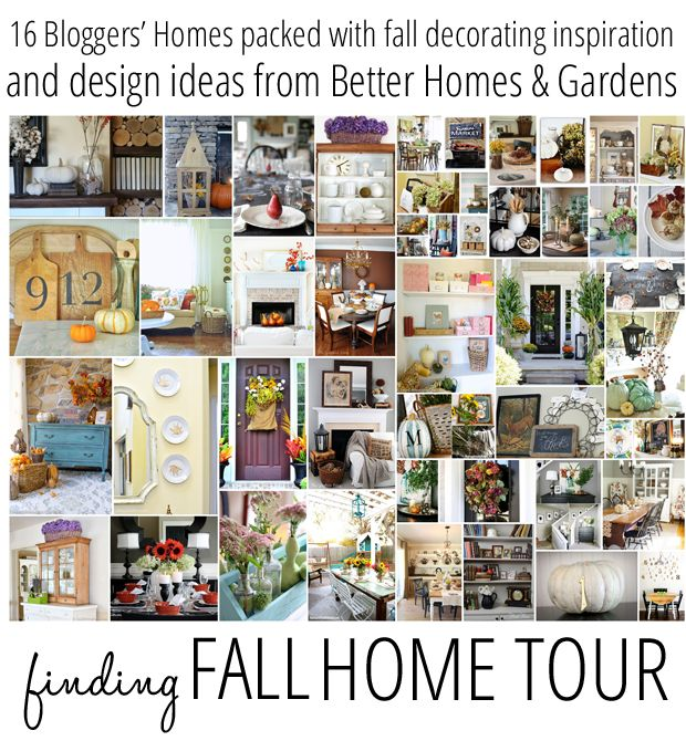 1000 images about home tours that i could revisit again Better homes gardens tv show recipes