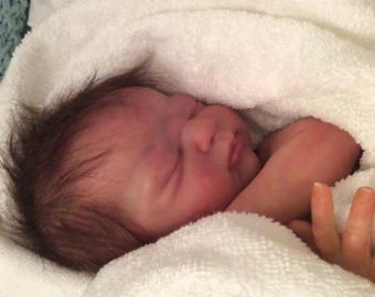 FREE SHIPPING Reborn baby girl Skylar SOLE Americus sculpt by