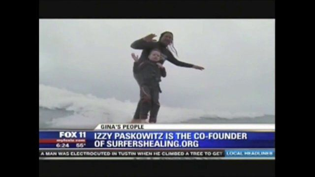 Raising a child with autism can be challenging. Izzy Paskowitz knows that first-hand.  16 years ago, he started Surfers Healing. Since then, Paskowitz has been offering free surfing camps for autistic kids.  His organization has several surfer volunteers helping out. They do up to 24 camps a year serving as many as 200 kids per camp throughout the country.