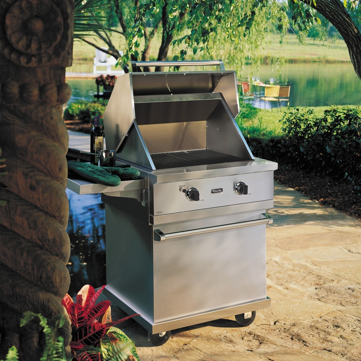 31 best images about grills on pinterest charcoal grill for Viking outdoor