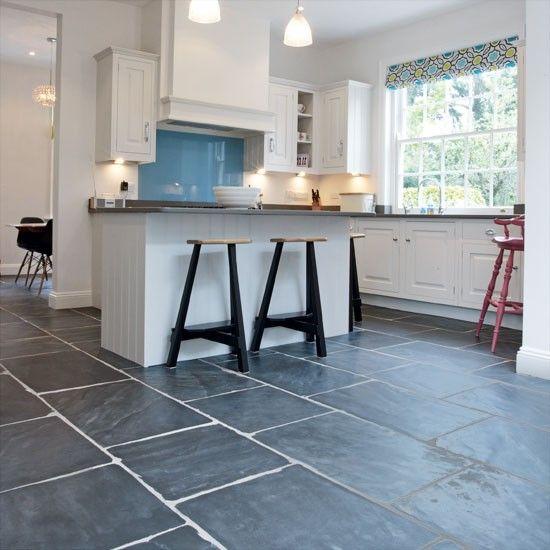 Slate Flooring Kitchen Flooring Housetohome Co Uk