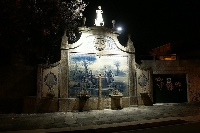 Póvoa de Varzim - Largo Eça de Queirós - Fontenário