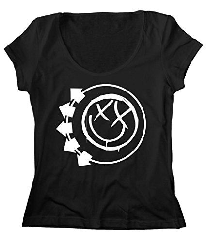 Women's Scoop Neck Original Logo Blink-82 T-Shirt FREE SHIP_$24.25_100% Cotton http://www.amazon.com/dp/B016K5LRUU/ref=cm_sw_r_pi_dp_Ircsxb0RDAPK3