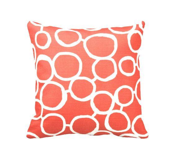 Die besten 25+ Orange kissen Ideen auf Pinterest braunes Sofa - die farbe koralle interieur teil 1