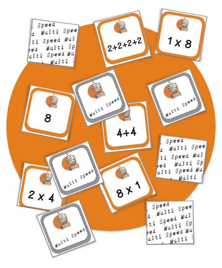 Les 25 meilleures id es de la cat gorie multiplication sur for Multiplication en jouant