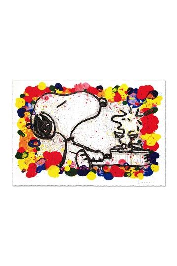 """""""Super Star"""" Hand Signed Original Lithograph on Paper by Quality Art Auctions Inc on @HauteLook"""