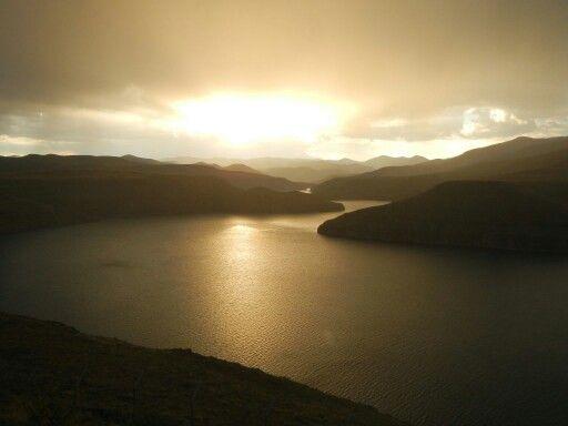 Promise of rain - Katse Dam