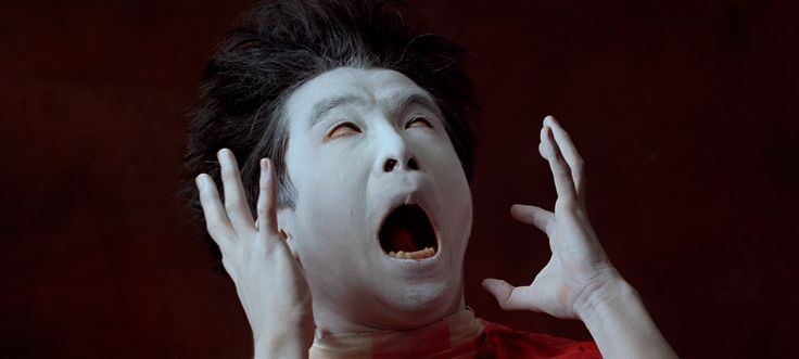 "raveneuse: "" Butoh performance as seen in Baraka (1992), Directed by Ron Fricke. """