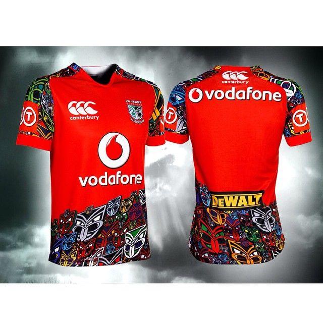 Vodafone Junior Warriors training jersey for 2015 #WarriorsForever #Jersey #Merchandise #Warriors #2015 #Training #tiki