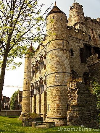 Ghent's famous Castle of the Counts (Gravensteen Castle) dates from the late 12th century (one of the oldest castles in Belgium). It is a typical medieval fortress, with a dungeon surrounded by high...