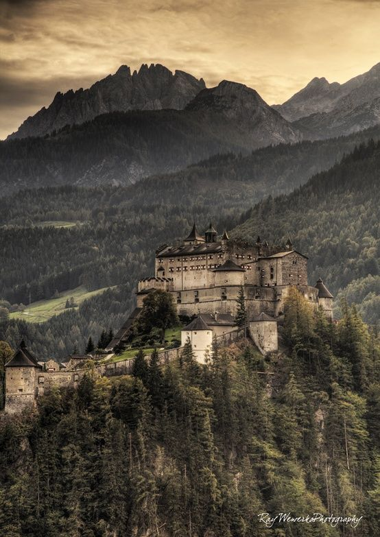 Top 10 Places to visit in Austria - pic: Hohenwerfen in Salzburg