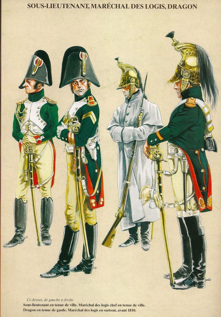 Dragoni dell'imperatrice della guardia imperiale francese