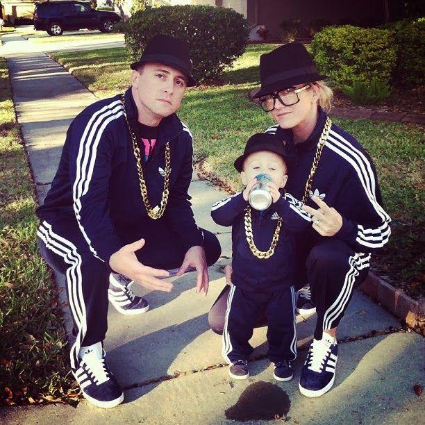 Run DMC- cute family costume