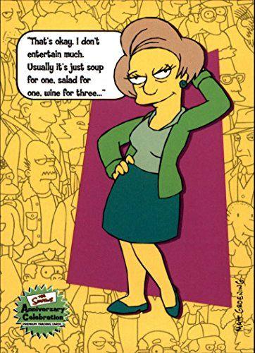 2000 The Simpsons Anniversary Celebration #31 Edna Krabappel