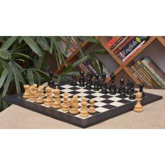 Holz Schachspiel – Indisches Chetak II Pferd kundenangepasste Schachfiguren aus Ebenholz und Buchsbaumholz(König 108mm) mit furniertem Schachbrett aus Anigre schwarz und Ahornholz aus Indien >> http://www.chessbazaar.de/schachspiel/exklusive-schachspiele/holz-schachspiel-indisches-chetak-ii-pferd-kundenangepasste-schachfiguren-aus-ebenholz-und-buchsbaumholz-konig-108mm-mit-furniertem-schachbrett-aus-anigre-schwarz-und-ahornholz-aus-indien.html