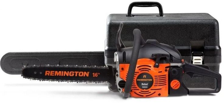 16 in. 42 cc 2-Cycle Gas Chainsaw with Carrying Case Adjustable Automatic Oiler #chainsaw