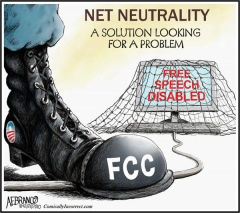 Net Neutrality Has Nothing to Do With Censorship