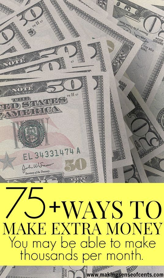 Whether you have just one free hour each day or if you are willing to work 40 to 50 hours a week on top of your full-time job, there are many options for you. Ways to make money, make extra money, make more money